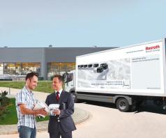 Globális partnerség a Bosch Rexroth-tal