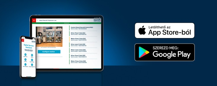 Digital Service Assistant mobilalkalmazás