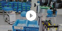 Intelligens, biztonságos, együttműködő robotok a jövő gyárában